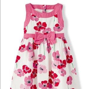 Girls Floral Dress - Playful Poppies